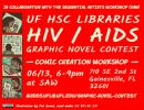 HIV/AIDS graphic novel contest slide