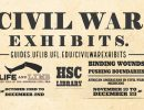 Civil War Exhibits info.