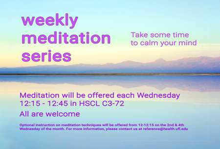 Weekly Meditation Series image