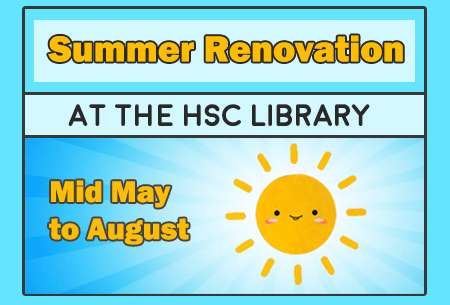 Summer renovation at the HSC Library
