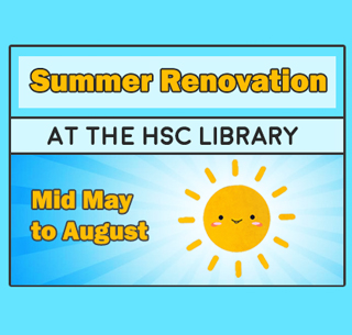 Summer Renovation At The Hsc Library Health Science Center