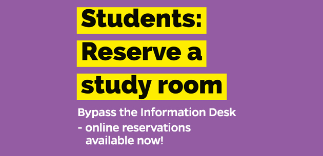 Online room reservation graphic