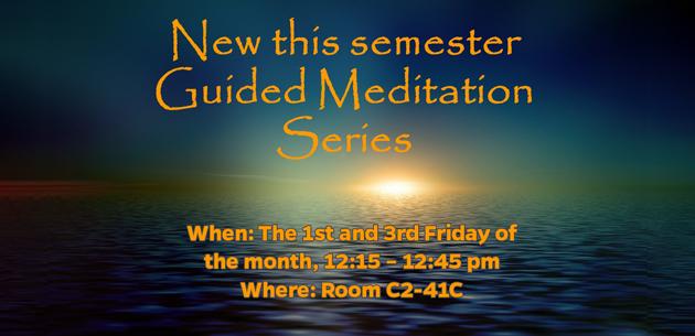 Guided Meditation Series slide