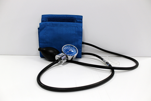 blood pressure cuff for check out