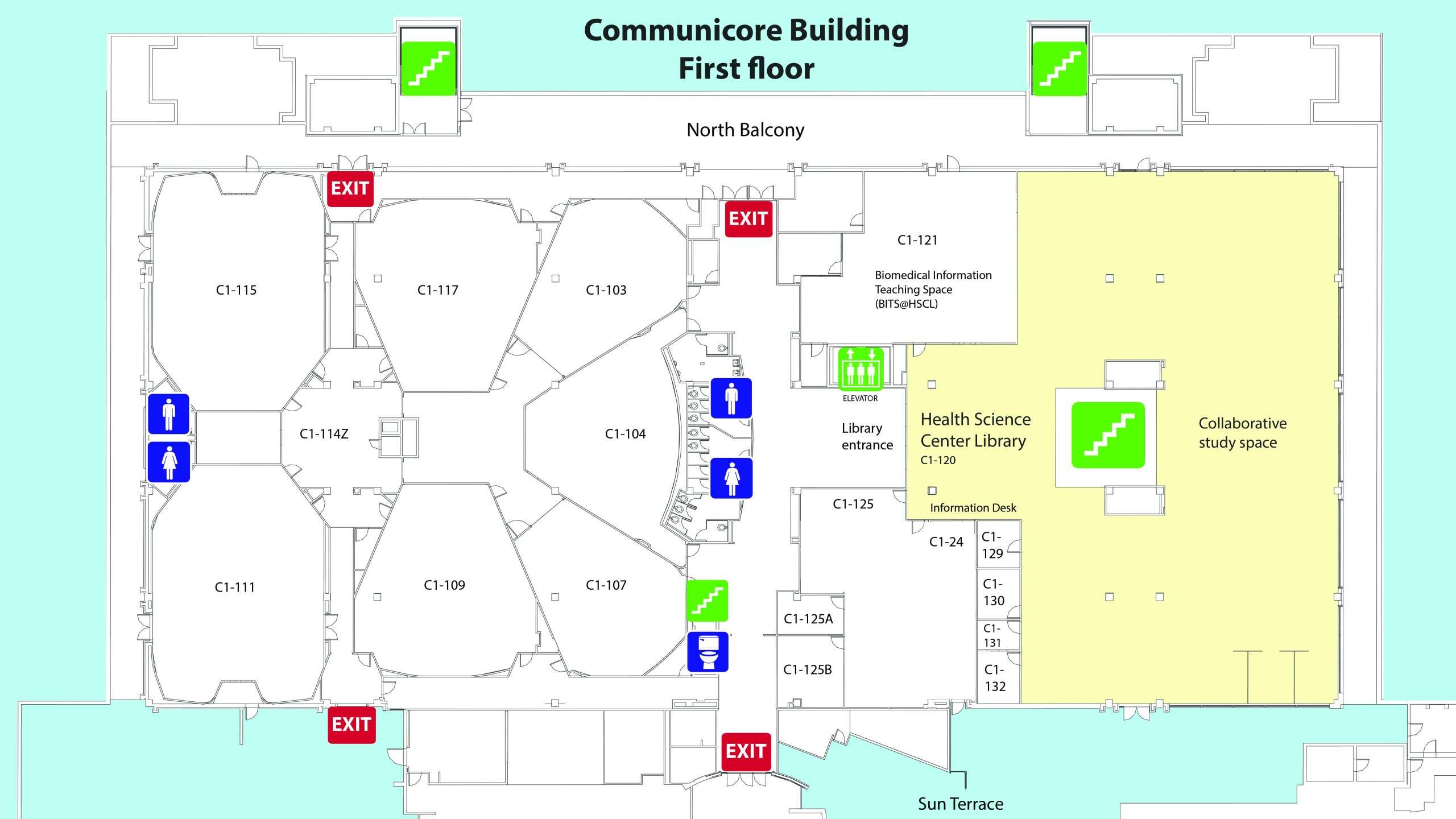 Communicore Building 1st (First) floor