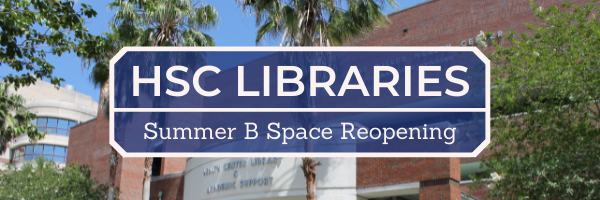 Summer B Space Reopening